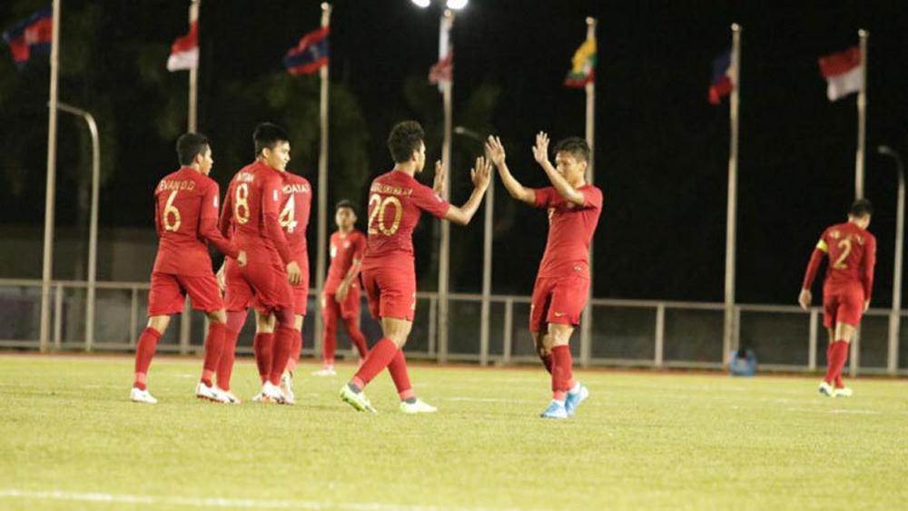 Indonesia vào bán kết bằng vị trí thứ hai bảng B